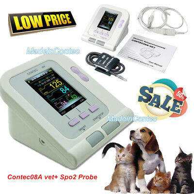 Vet Veterinary Digital Blood Pressure Monitor Dogcatpetsvet Cufvet Probepc