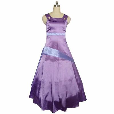 Hercules Megara Meg Princess Ball Gown Dress Animation Cosplay Costume {4}](Megara Costume)