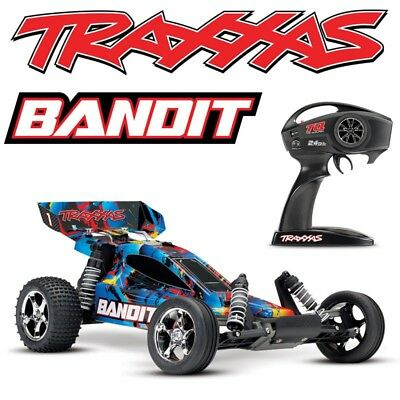 NEW Traxxas 24054-4 Bandit XL-5 2WD 1/10 Electric RC Buggy Rock-N-Roll Body w/TQ