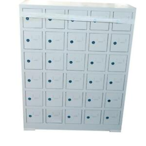 Cell Phone Locker Standard Metal Locker Box30 lockers 024128