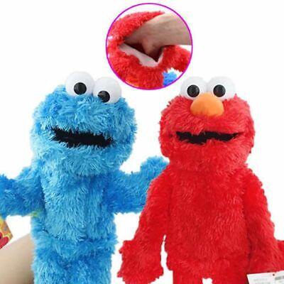 Sesame Street Plush Stuffed Animal Elmo Cookie Monster Hand Puppet Kids Toy Gift Sesame Street Hand Puppet