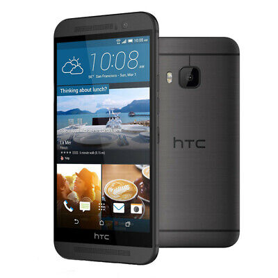 HTC One M9 32GB 4G LTE AT&T GSM UNLOCKED Octa Core 5in Cell Phone Smartphone