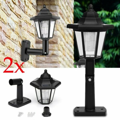 UK 48LED Solar Light Automatic Outdoor Waterproof Street Wall Lamp Multi Purpose