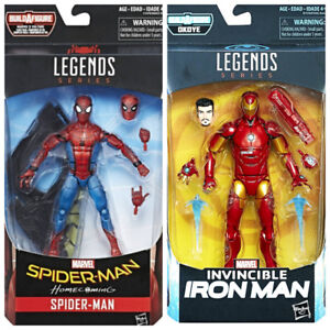 Marvel Legends Spider-Man and Iron Man NEW