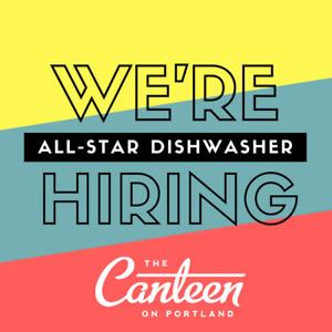 Seeking an awesome daytime dishwasher! ($200 signing bonus)