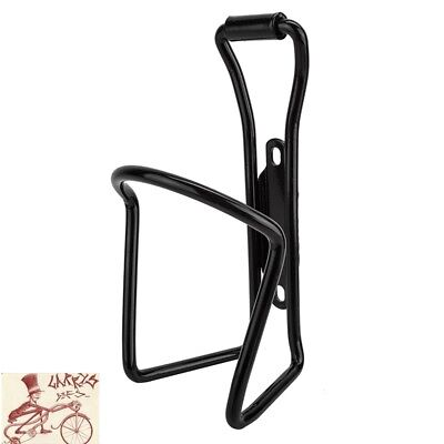 SUNLITE ALLOY 6mm BLACK WATER BOTTLE CAGE W// MOUNTING HARDWARE