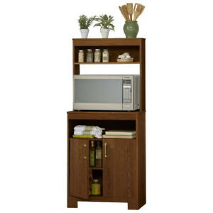Microwave Stand Chestnut, New