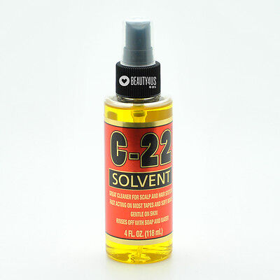 Walker Tape C-22 Adhesive Remover Solvent for Scalp, Wig Hair System 4 oz ()