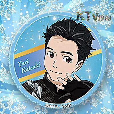 Fashion Japanese Anime YURI!!! on ICE Badge Brooch Chest Pin Souvenir Gift