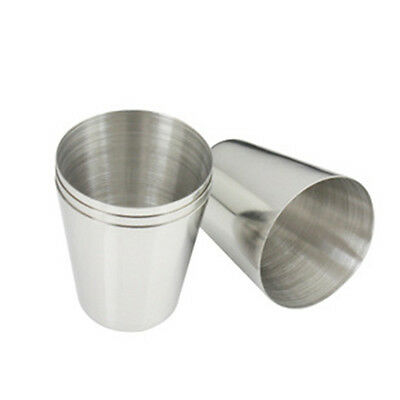 Cheap 35Ml New Stainless Steel Wine Drinking Shot Glasses Barware Cup Tb