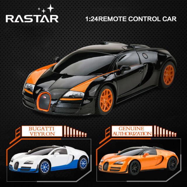 LICENSED 1:24 BUGATTI GRAND SPORT VITESSE ELECTRIC RC RADIO REMOTE CONTROL CAR