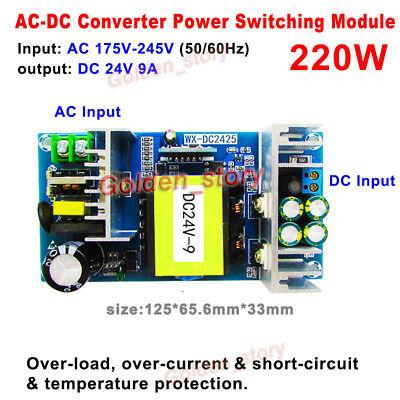 Ac-dc Converter 220v 230v 240v To Dc 24v 9a Isolated Power Switching Transformer