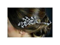 Twightlight Designs TLH3099 Wedding Diamante Hair Chain - Deco/1920's - BNIB