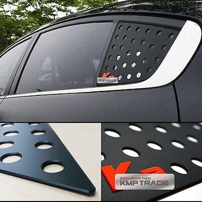 C Pillar Window Glass Sports Plate Molding Red For KIA 2013-2017 Cerato Forte K3