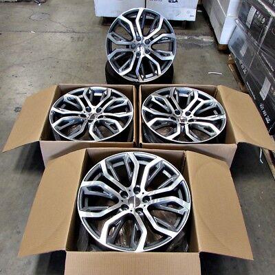 Fits BMW X5 X6 X5M X6M Machined Face/Gunmetal 20