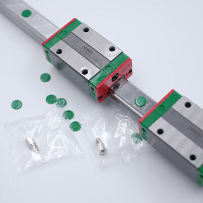 Hiwin 15mm Linear Rail Guide Egr15 2pc Egh15ca Rail Block Cnc Laser Woodworking