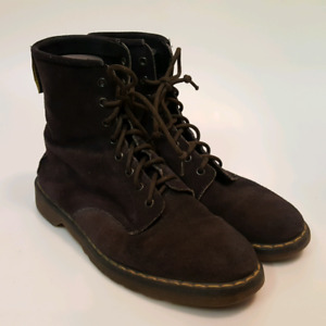 Dr Marten 1460 Desert Suede 8 EYE Boots (    Mens   size 9 UK )