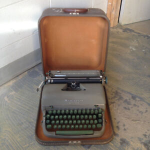 Typewriters - Remington, Smith Carona, Olympia