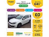 Volkswagen Golf FROM £41 PER WEEK!