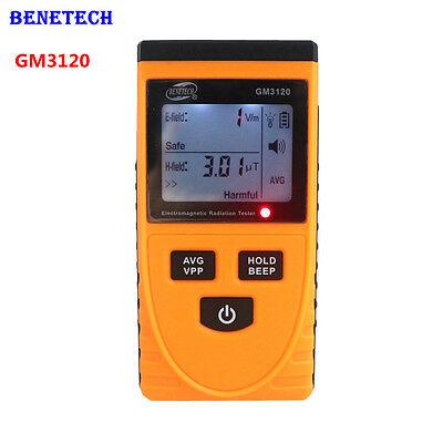 Gm3120 Lcd Digital Electromagnetic Radiation Detector Emf Meter Dosimeter