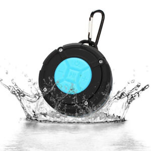 NEW -Shower Speaker, Bluetooth Portable Speaker with Suction Cup