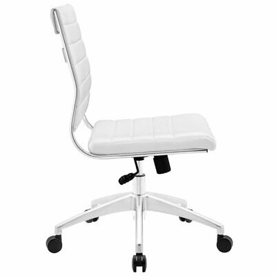 Modway Jive Armless Office Chair In White