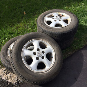 Excellent condition Michelin XIce winter tires on rims 205/65R15