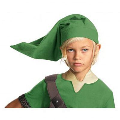 Green Elf Hat (ZELDA Link Green Elf HAT World of Nintendo  By Disguise)