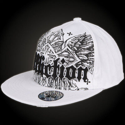 AFFLICTION Shadow Fall Hat Weiß Accessoires Herren  affliction cap