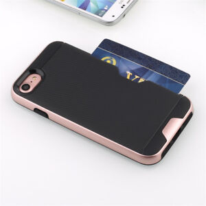 Card Slot case for iPhone 7, 7p, Samsung S7, S7edge.