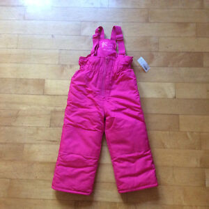 New with tags girls Snowpants size 3