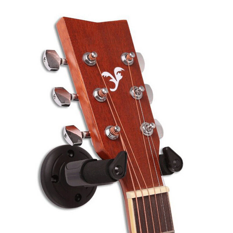 electric guitar hanger stand holder wall mount rack hooks ukulele bass hot sale ebay. Black Bedroom Furniture Sets. Home Design Ideas