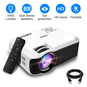1080p HD Mini Portable Projector Multimedia Home Theater