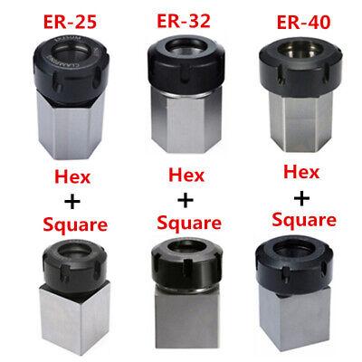 Hexsquare Er25er32er40 Collet Block Spring Chuck Holder Engraving Machine C