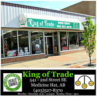 Experienced Retail Customer Service - King of Trade