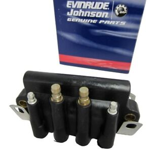 OMC BRP JOHNSON EVINRUDE Dual Ignition Coil Assembly