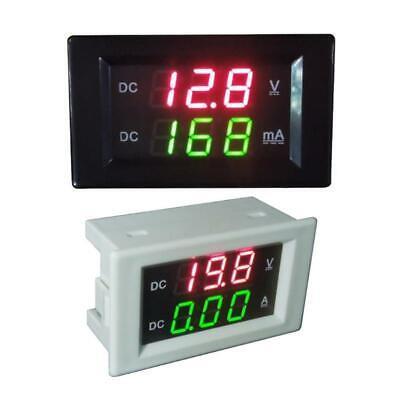 Dc 600v 20a Dual Digital Voltmeter Ammeter Volt Amp Tester Led Gauge Meter