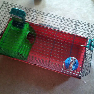 Roomy Small Animal Cage / Accessories