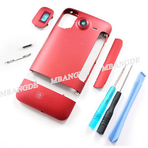New  Full Housing Battery Back Cover For HTC Inspire 4G A9191 Desire HD G10 Red