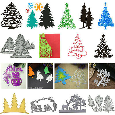 Christmas Metal Cutting Dies Stencil DIY Scrapbooking Paper Card Embossing Decor - Diy Paper Christmas Decorations