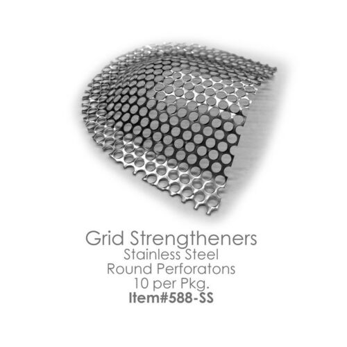 GRID STRENGTHENERS Reinforcement Mesh Stainless Steel 10pcs/box Dental Lab