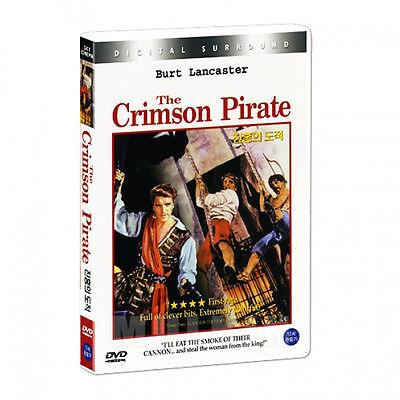 The Crimson Pirate (1952) DVD - Burt Lancaster (New *Sealed *All Region)