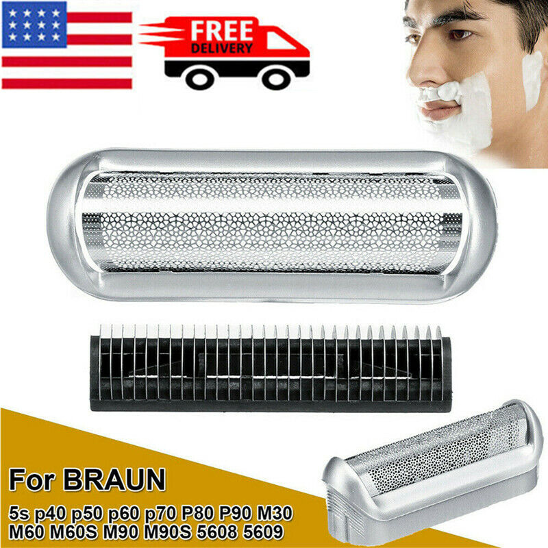 Shaver Foil Head Cutter Replacement For Braun 5s P40 P50 P60