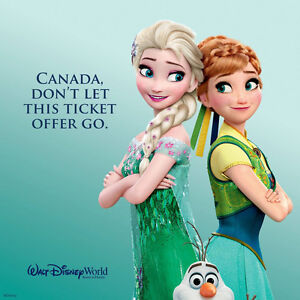 25% of Walt Disney World Resort Tickets London Ontario image 1