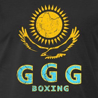 Ggg Gennady Golovkin Eagle Sun Oldskool Full Front Of Shirt  Many Options