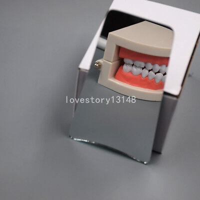 Dental Stainless Steel Orthodontic Intra-oral Clinic Photography Mirror Hot 1pc