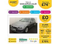 BMW 520 2.0TD 2013MY d SE Touring FROM £74 PER WEEK !