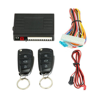 Universal Car Remote Central Set Door Lock Smart Vehicle Keyless Entry System