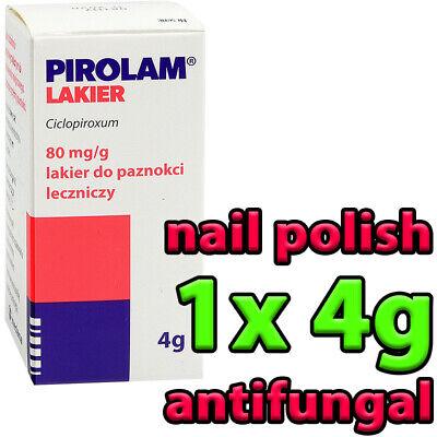1x PIROLAM 4g - nail polish tinea antifungal manicure heals best