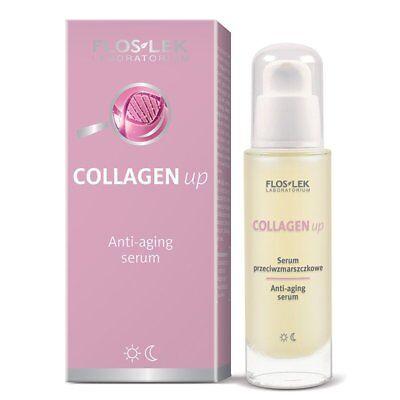 Anti-aging-serum (Anti Aging Serum Tag Nachtpflege Antifalten mit Collagen Kollagen Gesichtsserum)